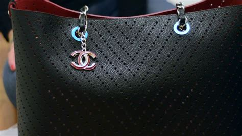 Conrad Chanel Purse Go Shopping by Chanel Perforated Large Shopping Bag Tote