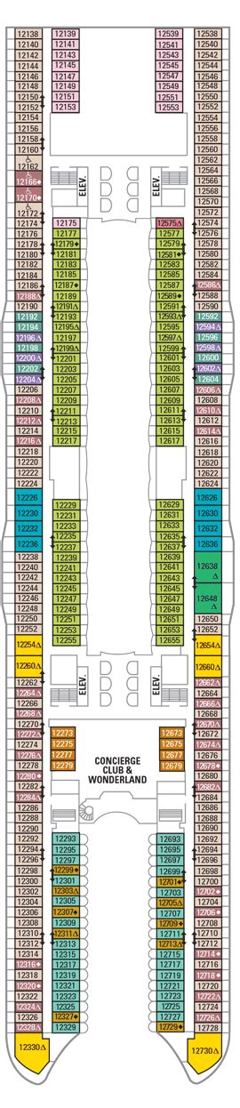 oasis of the seas floor plan deck 12 oasis of the seas deck plans royal caribbean blog