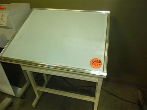 Drafting Table With Lightbox Drafting Table With Light Box Used Light Table Box Hopper S Drafting Furniture 16 Quot X 21