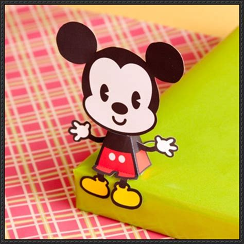Mickey Mouse Papercraft - new paper craft disney mickey mouse free paper