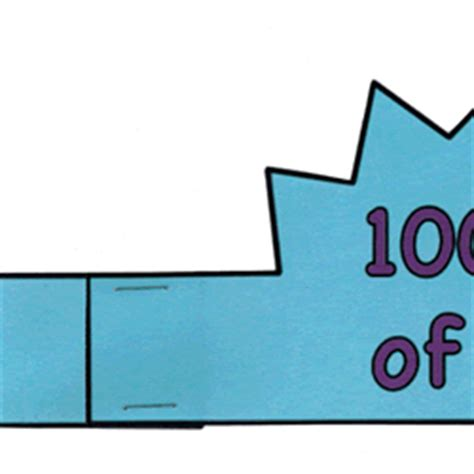 100 days of school hat template 28 100th day hat template 100th day of ideas on