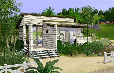 small beach homes mod the sims beach cabin small beach house for single