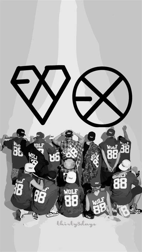 exo wallpaper for iphone 6 exo wallpaper for iphone wallpapersafari