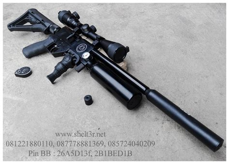 Mimis Crosman 177 4 5mm senapan angin shelt3r senapan pcp
