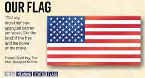 us flag color meaning flag day esl resources