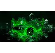 Dodge Challenger Green Fire City Car 2014 HD Wallpapers Design By Tony