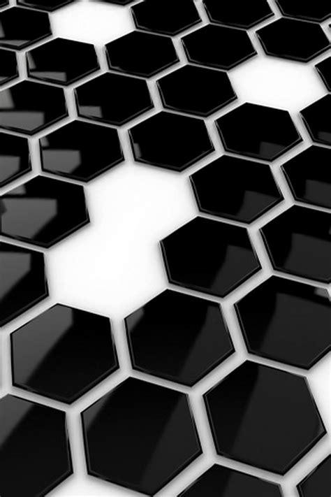 black and white tile wallpaper black hive tiles android wallpaper