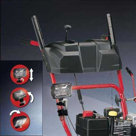 mtd 490 241 0009 universal snow thrower light kit