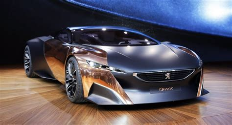 peugeot supercar peugeot unveils onyx hybrid concepts in 680hp supercar and