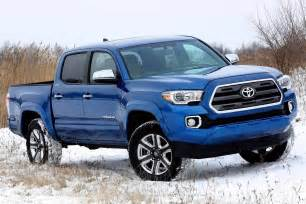 Toyota Truck 2016 New 2016 Toyota Tacoma Is Primed For Mid Size Truck War