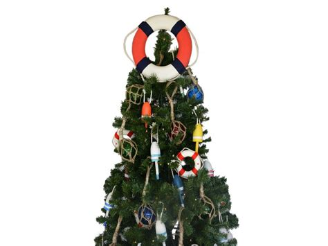 buy patriotic lifering christmas tree topper decoration