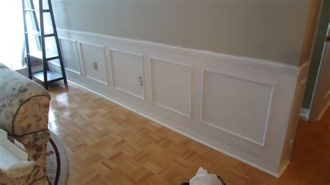 Mdf Wainscoting Diy Adding Elegance With Wainscoting Small Space Style