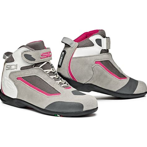 low motorcycle boots sidi gas leather motorcycle boots motorbike low cut