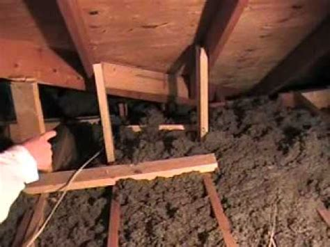 Supporting Ceiling Joists by Tjg Contractor Services Attic With Support To Roof Joists