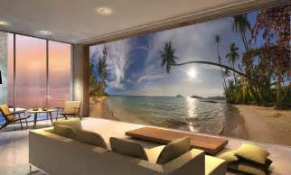 koh mak beach in thailand wall mural 24 wide by 8 high ebay home wallpaper samples wallpapers