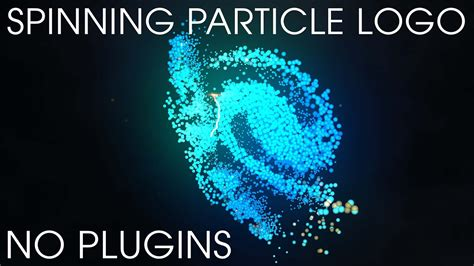 After Effects Template Spinning Particle Logo Free Download Youtube Spinning Logo Loop After Effects Templates
