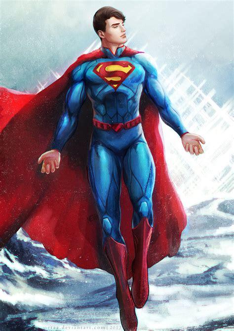 superman painting superman by metaa on deviantart