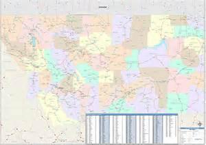 Montana Zip Code Map by Montana Zip Code Map