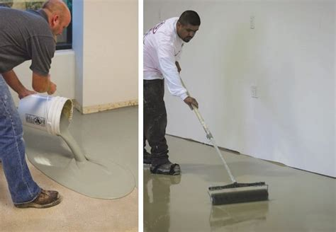 leveling basement concrete floor leveling a concrete floor bob vila