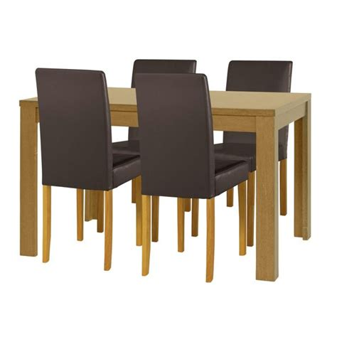 Buy Home Penley Extendable Dining Table And 4 Chairs Oak Argos Dining Table And Chairs