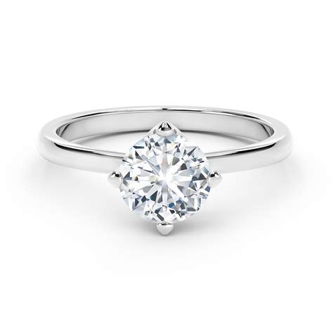 Solitaire Rings by Forevermark Setting 174 Solitaire Ring Forevermark