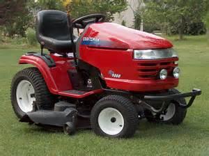 Sears craftsman gt 5000 garden tractor loader 3 description nice job