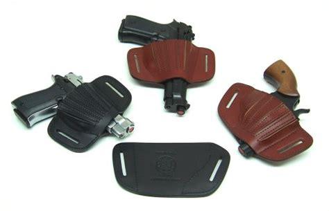 fondina holster cuoio con elastico fa110 per pistola