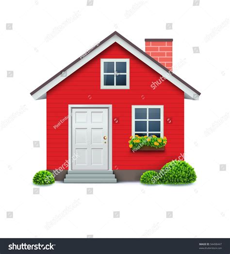 house line drawing images stock photos vectors shutterstock vector illustration of cool detailed red house icon