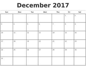 Calendar Monthly Template by 2017 Monthly Calendar Template Calendar Printable Free