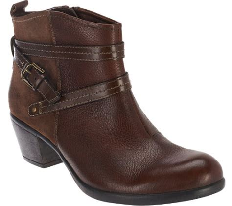 earth origins boots earth origins leather ankle boots w details