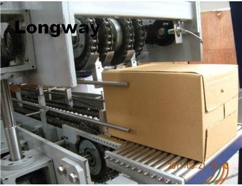 Paper Corrugated Box Machinery - melt glue corrugated box wrapping machine