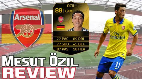 ozil hairstyle fifa 14 fifa 14 if mesut ozil 88 review w gameplay in game