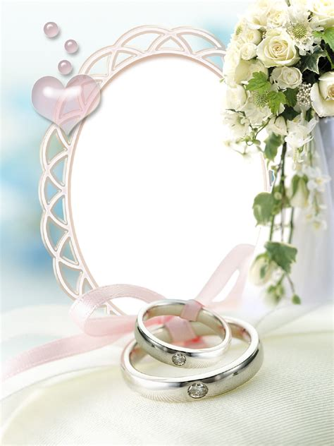 Wedding Border Photoshop by Floral Border Oval Wedding Picture Frame Frames And