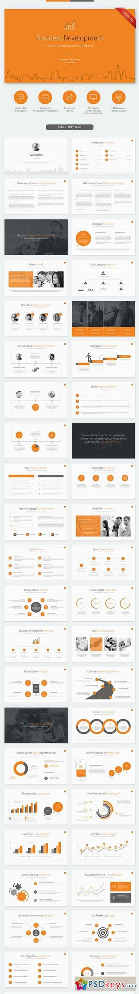 business development presentation template powerpoint 187 free photoshop vector stock image via torrent zippyshare from psdkeys