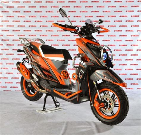 Standar 12 Motor Matic Pelangi Thailand modifikasi x ride thailand motor matic yamaha galeri