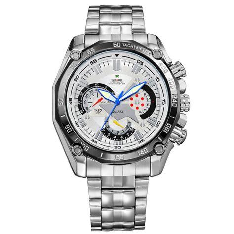 Jam Tangan Diesel Four Time Chronograph Silver weide jam tangan analog digital pria wh1011 white silver jakartanotebook