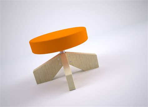 big foot stool by alper g 252 nd 252 z for formabilio 187 retail