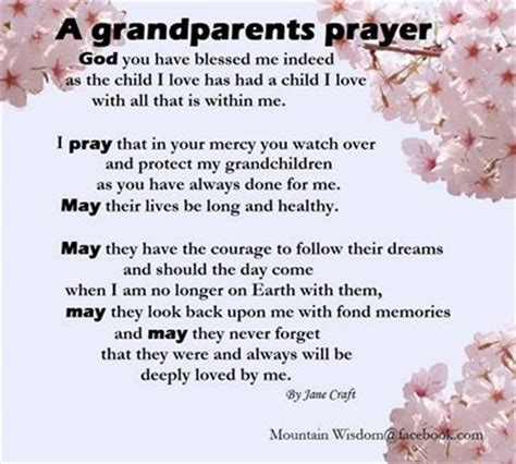 Wedding Blessing From Grandparents by A Grandparents Prayer Pictures Photos And Images For