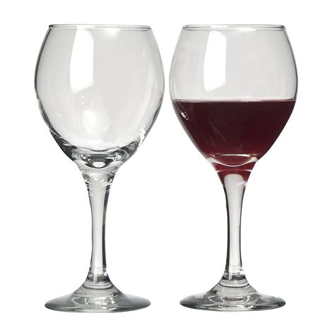 wine glasses briscoes libbey arbor red wine glasses set of 6