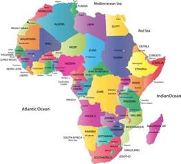 Africa Map Capitals by Map Of Africa Countries 2014 Images