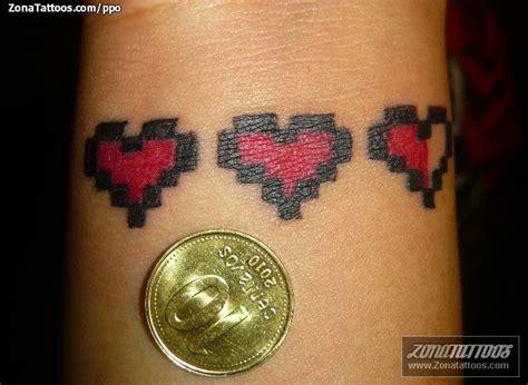 imagenes de corazones de video juegos tatuaje de videojuegos corazones