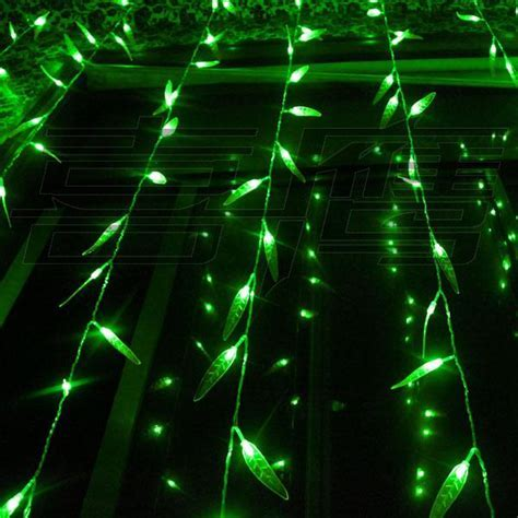 300 LED Lights 3m*3m Salix Leaf Curtain Light,Flash