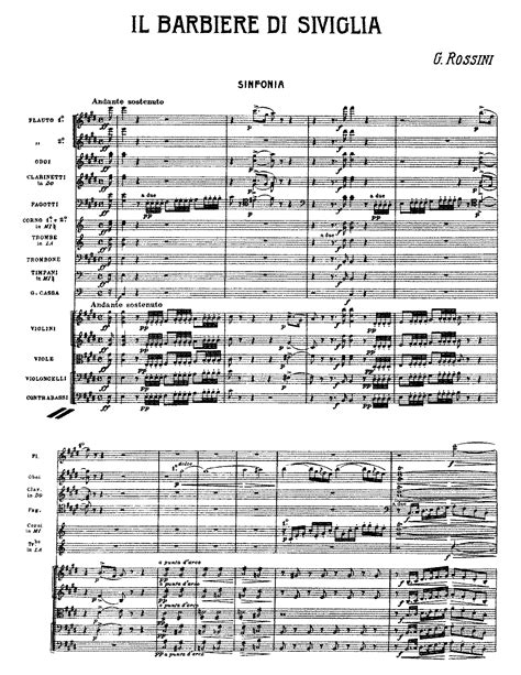 Il barbiere di Siviglia (Rossini, Gioacchino) - IMSLP