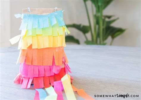 How To Make A Paper Bag Pinata - paper bag pinatas a simple tutorial somewhat simple
