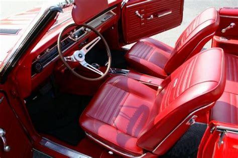 Camaro Upholstery Kits 1967 Chevelle Bucket Seat Interior Photos