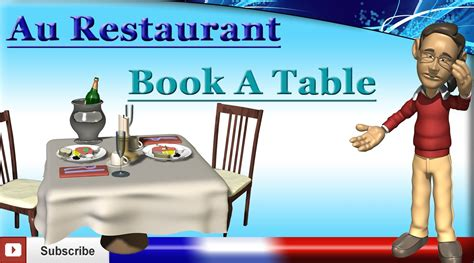 the bistro a novel learn how to book a table r 233 server une table au