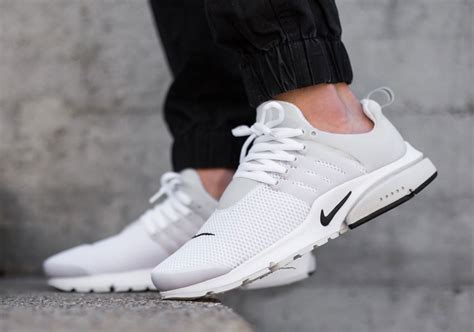 nike air presto breathe white black sneaker bar detroit