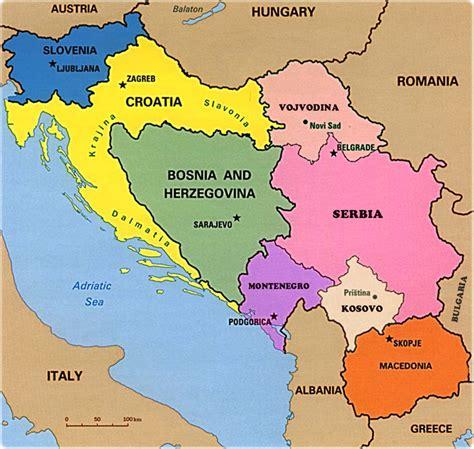 europe map yugoslavia thefreebiedepot