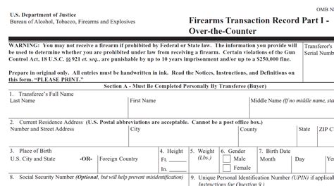 Firearm Background Check Form Commitment Issues Guns The Mentally Ill New Hshire Radio