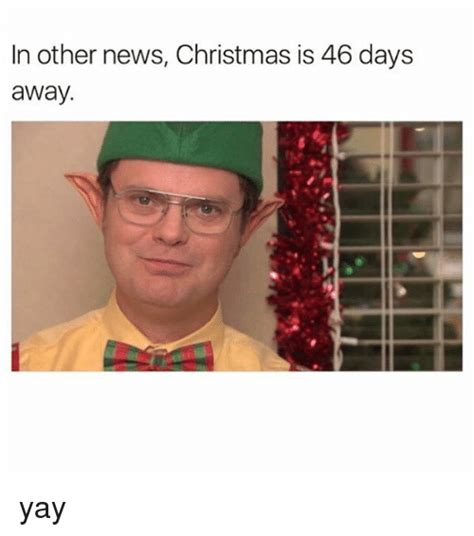 In Other News by In Other News Is 46 Days Away Yay News Meme On